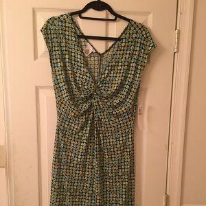 London Times Woman's Short Sleeve Dress Never Worn